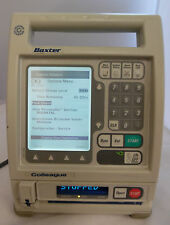 Baxter Colleague Guardian Volumetric Infusion Pump Working Good Battery