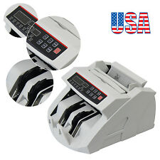 Bid Money Bill Currency Counter Counting Machine Counterfeit Detector Uv Mg Cash