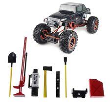 6Pcs RC Decoration Tools Set Kit for 1:10 Rock Crawler Truck Car Parts
