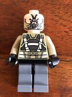 LEGO BANE Dark Knight minifigure sh062 DC COMICS SUPERHEROES 76001