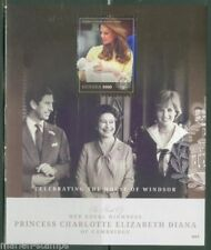 Princess Diana Guyanese Royalty Famous People Postal Stamps