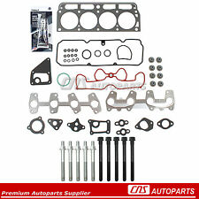 Head Gasket Set Bolts Fits 98-03 GMC Sonoma Chevrolet Pontiac 2.2 VIN 4, 5, LN2