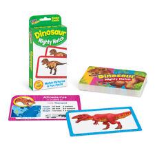 Juego de tarjetas Flash Dinosaurio Mighty Match-uso de aula & Home-aprender divertido hechos