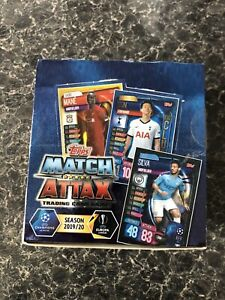 Topps Match Attax 2019/20Trading Cards Full Box
