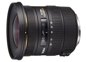 [NEAR MINT] Sigma 10-20mm f/3.5 EX DC HSM for CANON from JAPAN (N622)