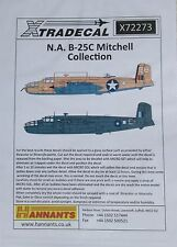Xtradecal 1/72 X72273 North American B-25C Mitchell decal set