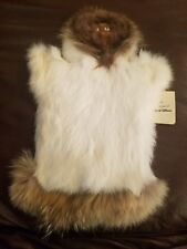 From the house of Diamond Willow real fur esikmo puppet 1987 has tag