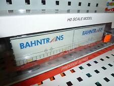 MEHANO 58862 H0 Containertragwagen Sgkkms 698 Bahntrans