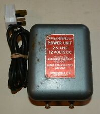 Smoothflow Power unit for  Model Railways by Minimodels 12v DC output -working