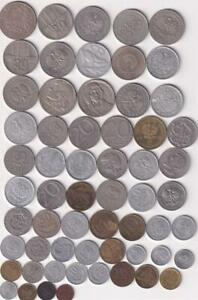 60 DIFFERENT POLAND COIN COLLECTION 1923-2014  R2