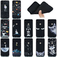 For Xiaomi Mi 9 Redmi 7 GO Note 7 Pro Soft Silicone Painted TPU Back Case Cover