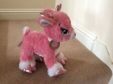 Twinkle Build A Bear Pink Sparkly Reindeer