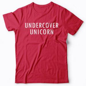 Cool T-shirt - Undercover Unicorn gift idea