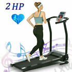 3.25HP Treadmill Electric Folding Running Machine with 12