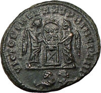 CONSTANTINE II Jr. son of Constantine I Ancient Roman Coin VICTORIES  i22122