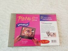 NEW Sealed VoicePrint Talking Picture Frame with Interchangeable Frames
