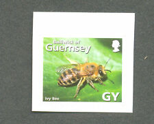 Bees -Guernsey-Ivy Bee-Insects mnh single self-adhesive