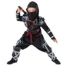 $38 RED NINJA BOYS CHILD'S JUMPSUIT COSTUME BY TEETOT & CO. - Child Size 7-8