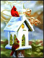 The Church - Chart Counted Cross Stitch Pattern Needlework DIY Craft Xstitch