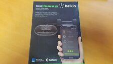 Belkin SongStream NFC-Enabled HD Audio Bluetooth Wireless Music Receiver, Black