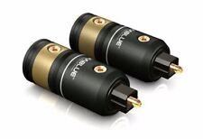 1 Pair (2Stk) Viablue T6s Opto Toslink Plug Plug