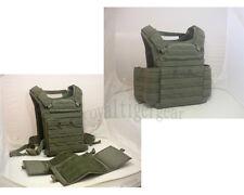 FLYYE Fast Attack Plate Carrier (FAPC) GEN2 MOLLE Tactical Vest - Ranger Green