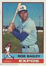 1976 Topps #338 Bob Bailey Montreal Expos (2015-0451)