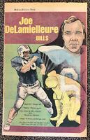 Vintage Buffalo Bills Poster Joe DeLamielleure Buffalo Evening News Approx 13x20