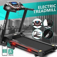 Super Large Motorized Electric Treadmill Folding Automatic Incline 12 RunningSet