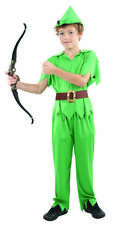 Deguisement garcon peter pan Costume enfant fantasie Halloween robin hood archer