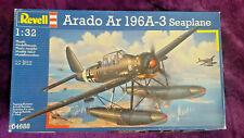 REVELL 1:32 ARADO Ar 196 A-3 Seaplane Model Kit #04688 *SEALED IN BAG*