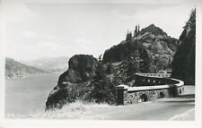 Inspiration Point Columbia River Highway OR Oregon Real Photo Postcard D19