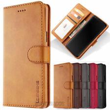 Magnetische Flip Leder Brieftasche Karten Hülle für Huawei Mate 20 Lite P20 Lite