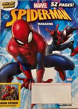 MARVEL HEROES MAGAZINE, July/August 2019 #28 SPIDER-MAN New Poster Included!