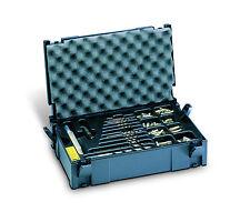 TANOS MINI Systainer Classic Gr. 1 anthrazit + Einsatz/ Einlage & Deckel polster