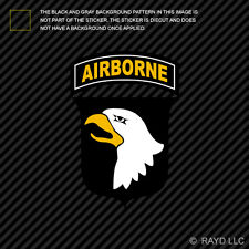 101st Airborne Division Sticker Self Adhesive Vinyl Div the Screaming Eagles