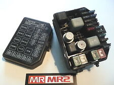 toyota mr 2 electrical components toyota mr2 mk2 sw20 3sge front fuse box relays mr mr2 used parts 1989