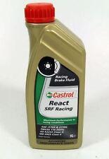 Castrol React SRF Racing / 1 Liter FMVSS 116 DOT 3 FMVSS 116 DOT 4 ISO 4925