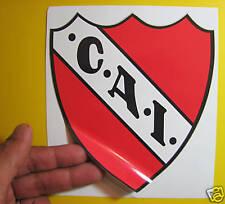 "BEST PRICE!!! LOT OF 10 SOCCER DECAL / STICKER INDEPENDIENTE ARGENTINA 4.5"" X 5"""