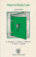 How to Study Law, Anthony Bradney~V. Fisher~J. Masson~A.C. Neal~D. Newell~Victor