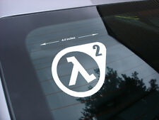 half life 2 decal sticker fps pc game *free ship