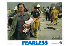 FEARLESS JEFF BRIDGES ORIGINAL LOBBY CARD 11X14 NEAR MINT