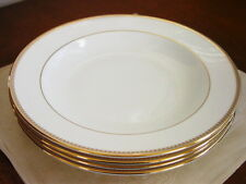 Wedgwood - Vera Wang VERA LACE GOLD Soup Pasta Bowls  Set / 4 - NEW!