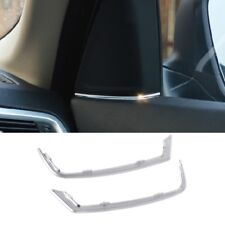 Car Front Door Stereo Speaker Strip Decal Cover Trim For BMW 5Series 525 520 F10