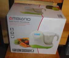 New In Box! Ambiano Baby Food Processor Digital Control 5 Funtion 8.5 oz
