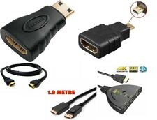 1080P HDMI Cable & HDMI to Mini & Micro Adapter For Android Tablet PC TV-