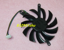 For 75mm EVGA NVIDIA GTX 460 560TI Fan 42x87x87mm 4Pin PLD08010S12HH #Shu62