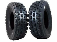 New 22X7-10 MASSFX 2 Front Tire set (2) 4 ply ATV Tires 22x7x10 pair 22x7/10