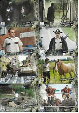 """2018 WALKING DEAD:""""ROAD TO ALEXANDRIA"""" COMPLETE 100 CARD BASE SET!!"""