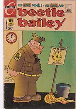 1972 Charlton Comics Beetle Bailey Comic Book #89